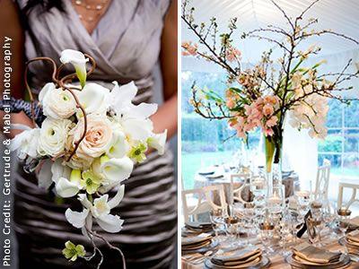 Waterlily Pond San Francisco Wedding Flowers Bay Area Fl Designer Real Weddings