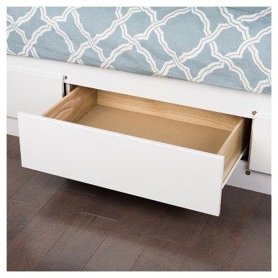 c4235359a058 3 drawer Platform Storage Bed -Twin - White - Prepac