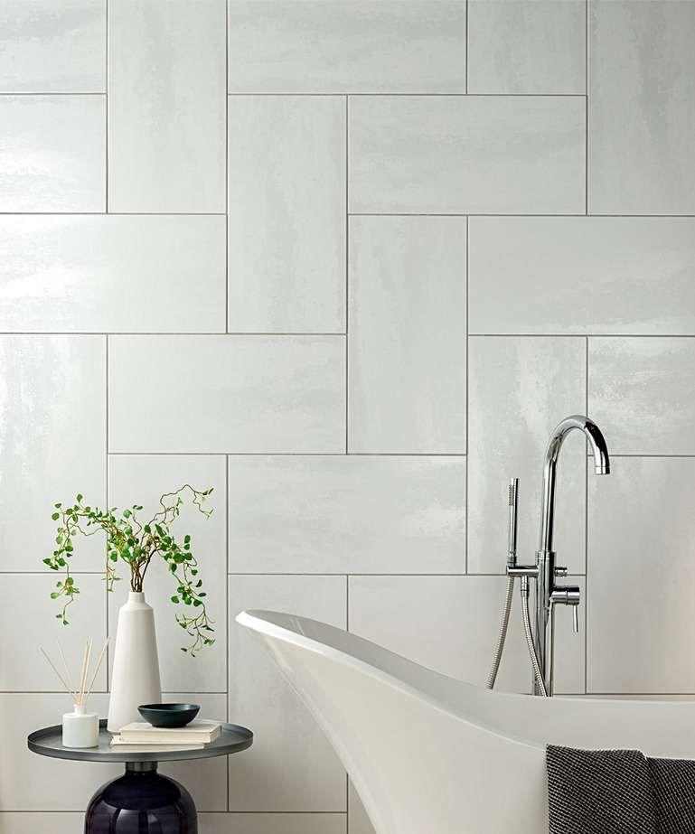 Lustre White 30cm X 60cm In 2020 Tile Care Shower Wall Topps Tiles