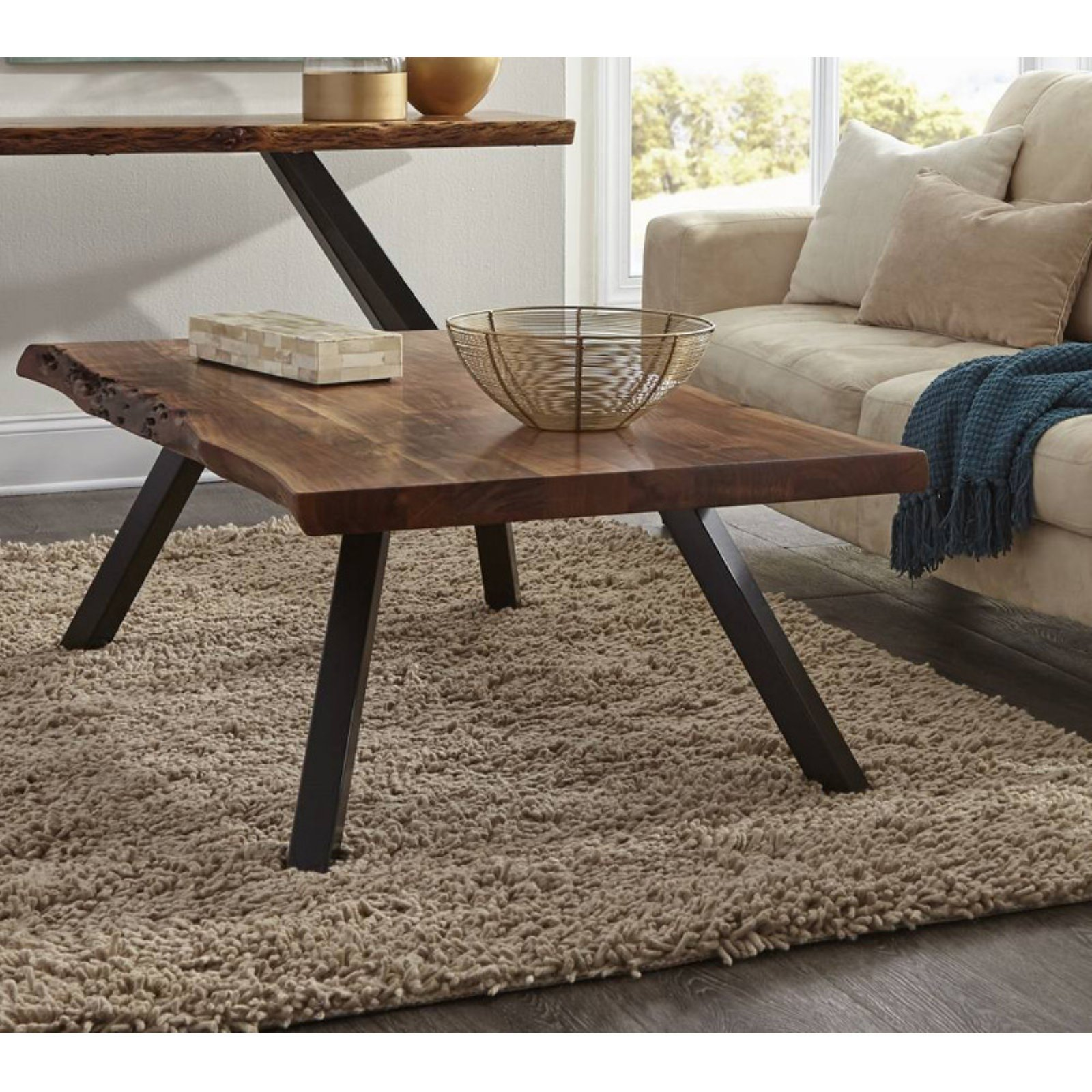 Modus Reese Rectangular Coffee Table In 2021 Coffee Table Live Edge Coffee Table Rectangular Coffee Table [ 1600 x 1600 Pixel ]