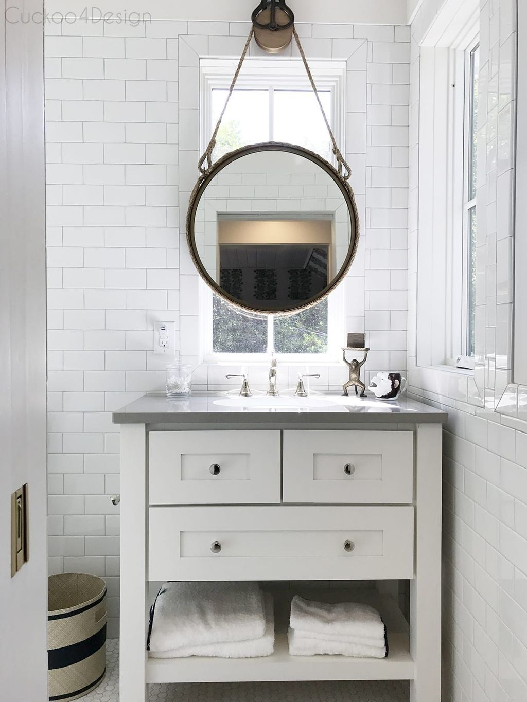 44 Awesome Bathroom Mirror Design Ideas That You Need To Know In 2020 Bathroom Mirror Design Rustic Bathroom Vanities Bathroom Mirror