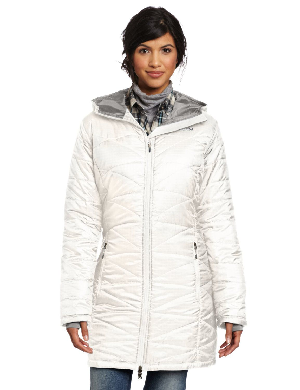 5236f40cea0 Columbia Womens Mighty Lite Hooded Jacket