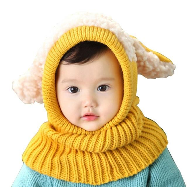 b9040d8ee91 Cute Winter Warm Baby Hat