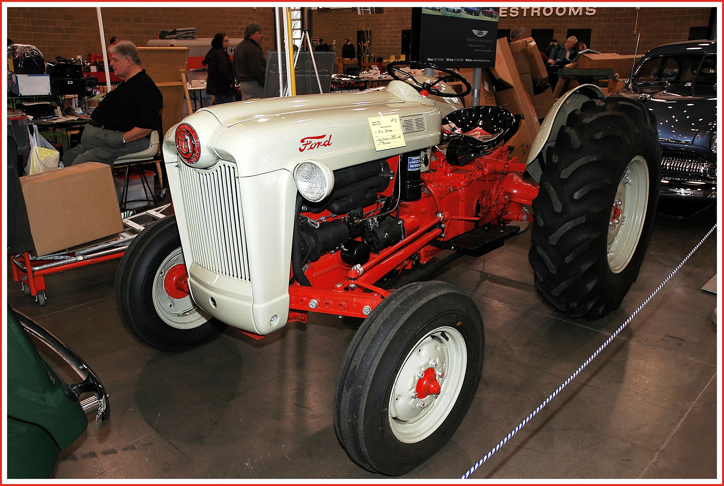 1953 Ford Golden Jubilee Tractor In 2020 Ford Tractors Tractors Classic Tractor
