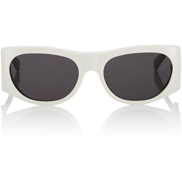 cb6f504cef4 Céline Women s Rounded Rectangular Sunglasses (€400) ❤ liked on Polyvore  featuring accessories