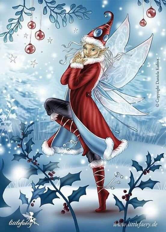Fee der Feenwelten  Weihnachtsfee #lutindenoel