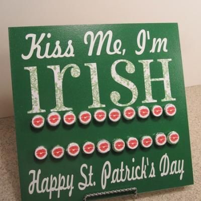 DIY Countdown to St. Patrick's Day