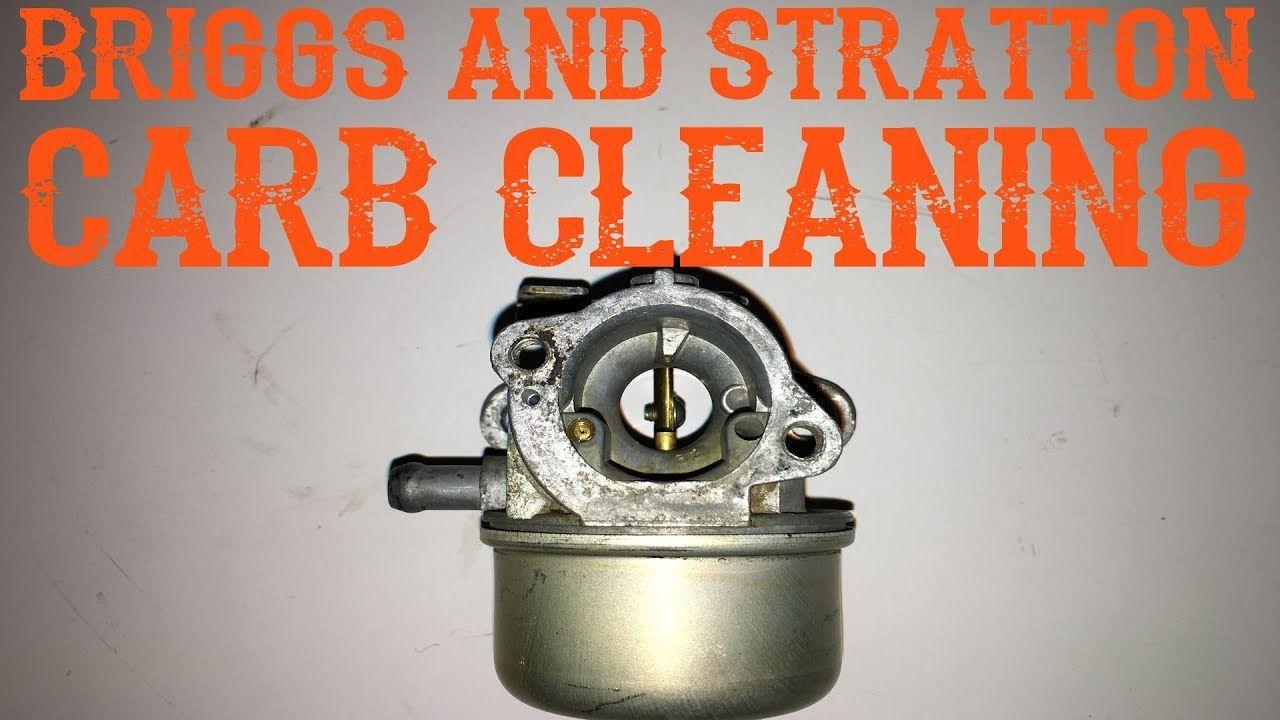 How Do I Clean a Metal Briggs Carburetor YouTube