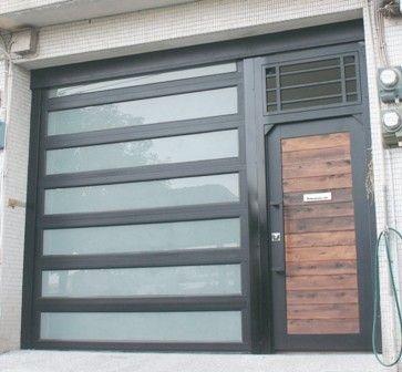 O'Leary stacking garage door - eclectic - garage doors - other metro - YI CHENG DOORS CO., LTD ...