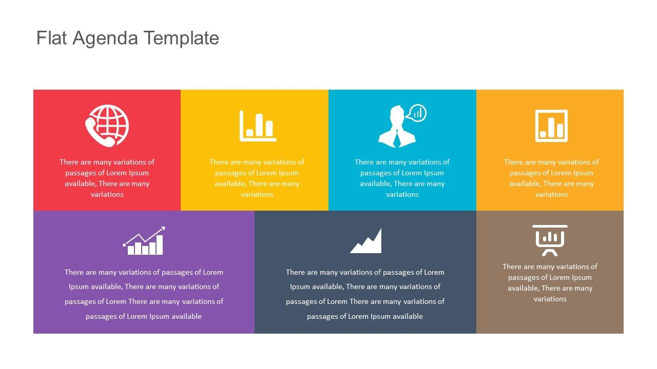 Introduce A Presentation Set An Agenda Or Break Down The Steps For A Project Clearly With The Flat Agenda Temp Agenda Template Powerpoint Templates Powerpoint Force field analysis template powerpoint