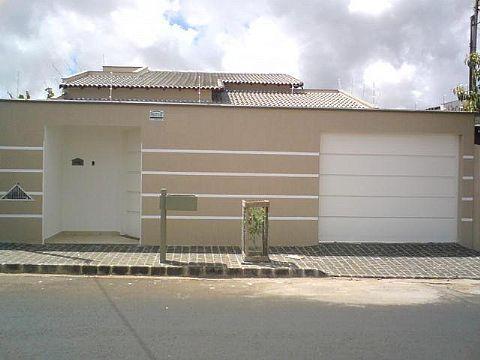 49 modelos de muros e fachadas residenciais modelos de for Modelos de fachadas