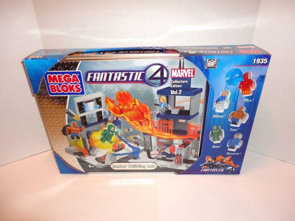 marvel lego fantastic 4 building