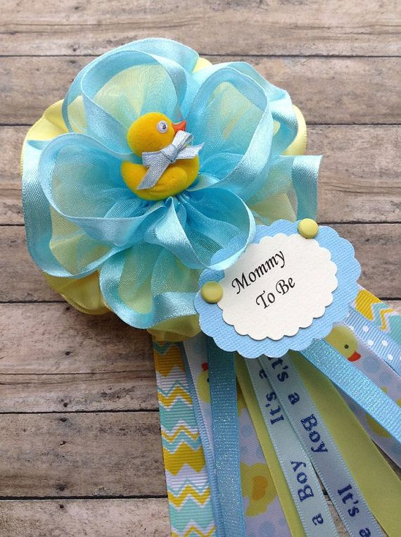 Boy Rubber Duck Grandma To Be Corsage Or By Alittlesweetbowtique