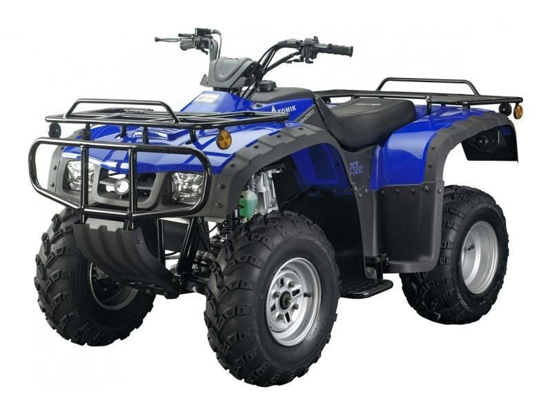 Atomik 250cc Blue Krusher Farm Quad Bike Quad Bike 250cc Quad