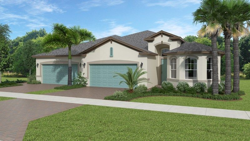 Lakepark At Tradition In Port Saint Lucie 2 New Home Rebate With Any New Home In Florida When You Register With Us Call Florida Home Model Homes New Homes