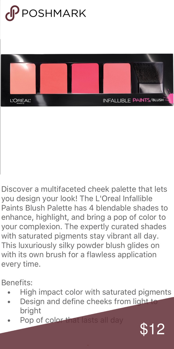 L'Oréal New Blush Palette Last All Day L'Oréal New Blush Palette Last All Day Sephora Makeup Blush