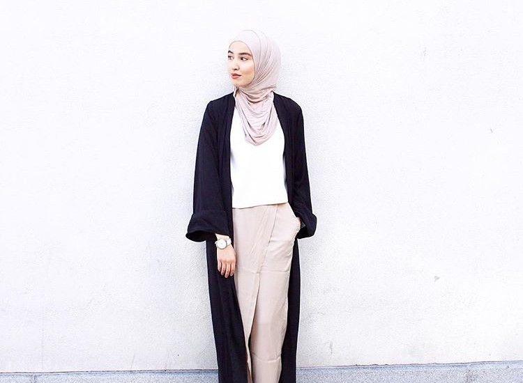 Hijab   Maxi Cardigan   Nude   I Want Those Pants ...
