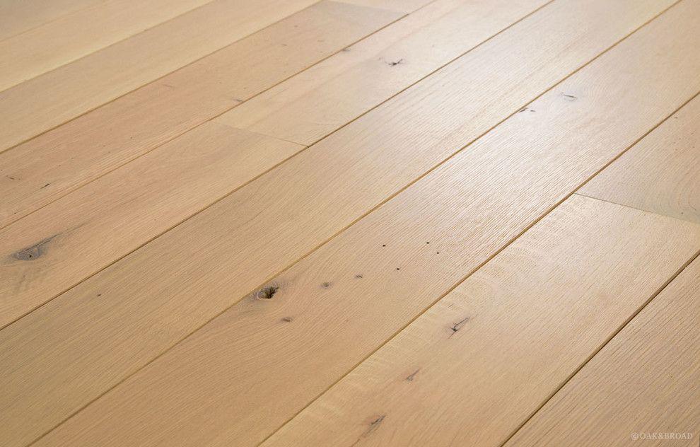 Oiled Character Grade White Oak Natural Finish floor