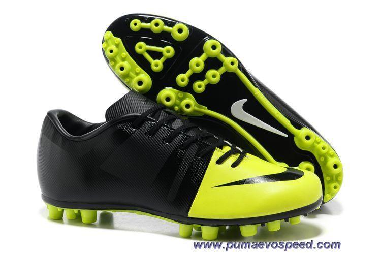 New Volt-Black-Black Nike Green Speed GS AG