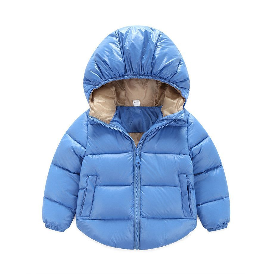 4f357457b891 7-24 months Winter Newborn Baby Snowsuit Cotton Girls Coats And ...