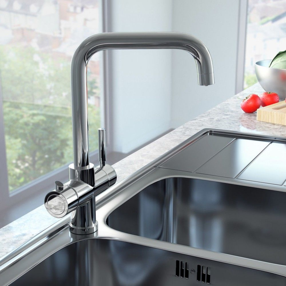 The Ultimate In Kitchen Convenience This Tap Delivers Kettle Hot