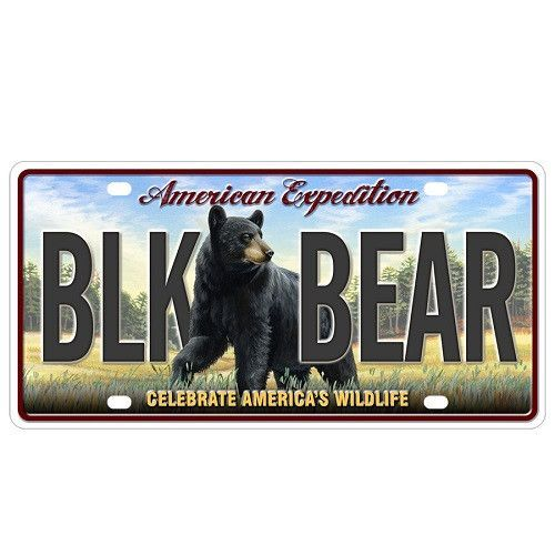 American Expedition Black Bear License Plate | Products | Pinterest | License Plates And Products Sc 1 St Pinterest  sc 1 st  pezcame.com & Black Bear Plates u0026 American Expedition Black Bear License Plate ...
