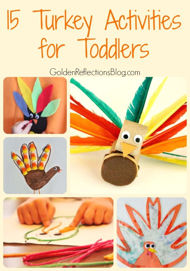 15 Turkey Activities For Toddlers