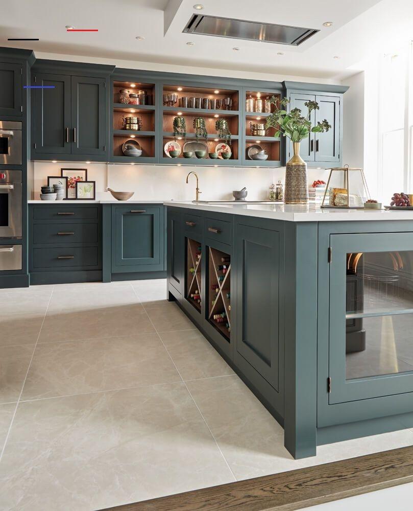 dark green kitchen tom howley darkgreenkitchen this beautiful dark green modern kitchen on kitchen interior green id=69444