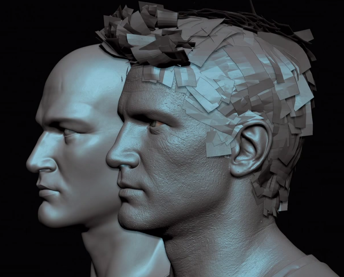 How To Quickly Model Polygons For Hair