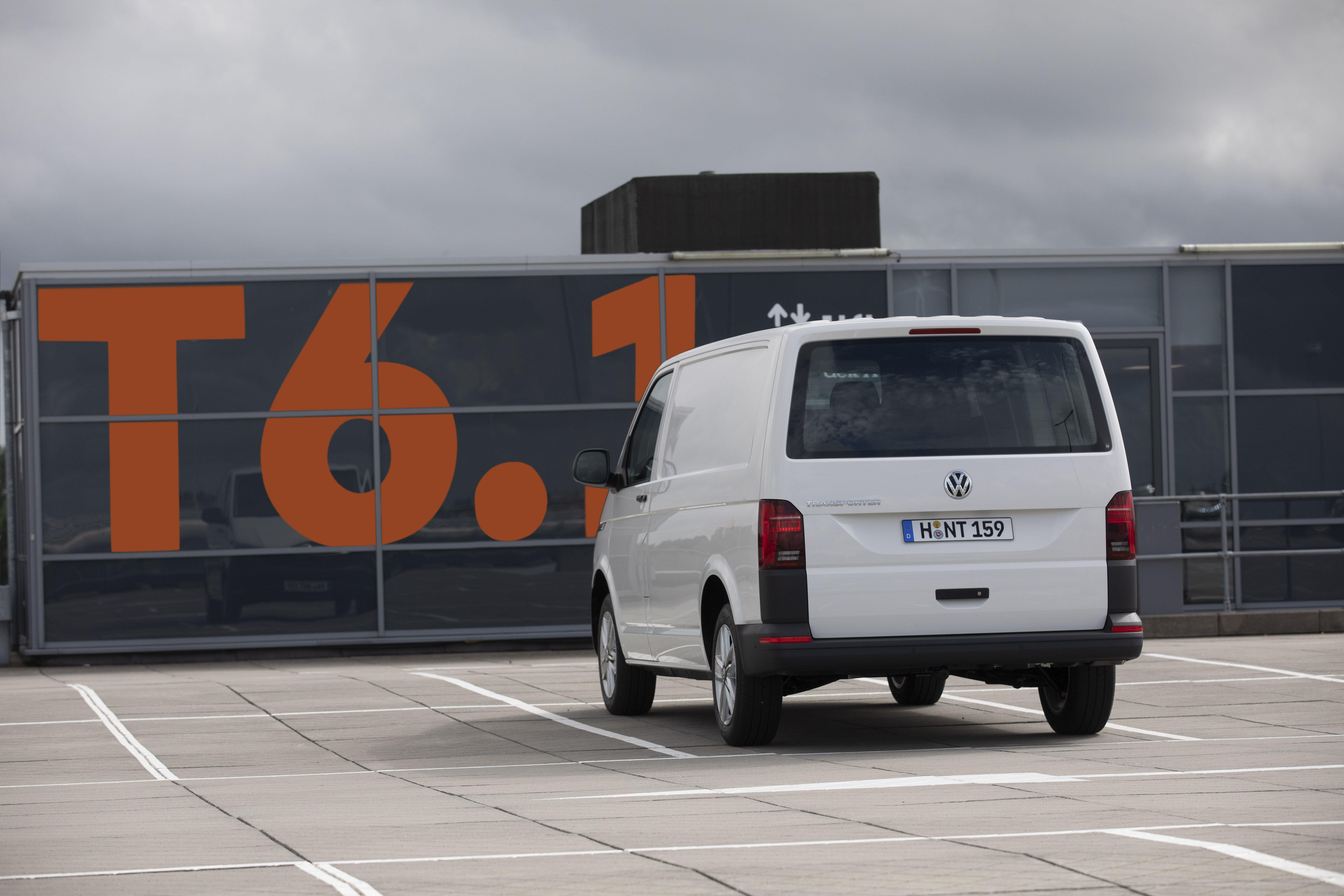 Jungster Vw Transporter Ist Jetzt Der T6 1 Mit Viel Mehr