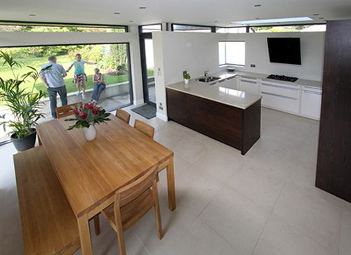 gardenroom - brookfield, modern house extension - bespoke interior
