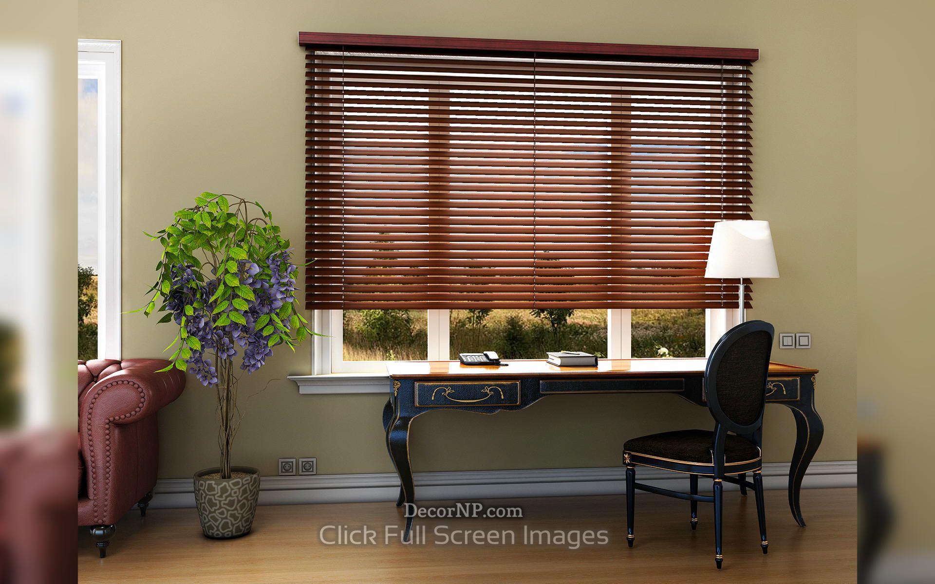 Latest Modern Wooden Window Blinds In 2019 Dekor