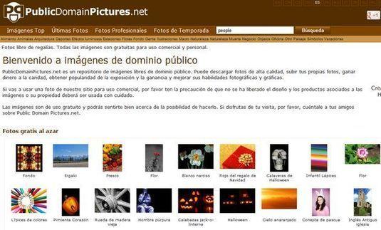 PublicDomainPictures, repositorio con más de 23.000 imágenes libres: personal y comercial