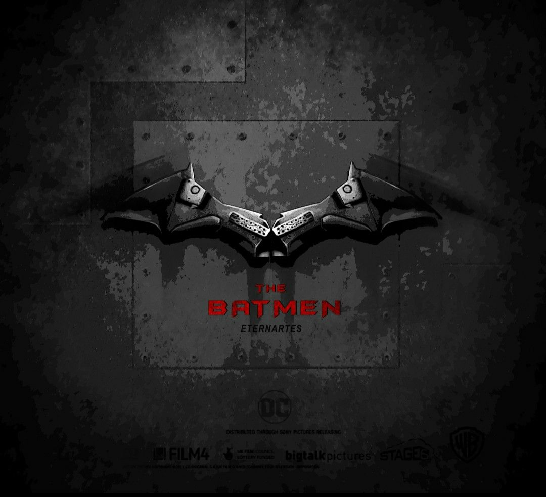 New Batman Logo Robert Pattinson