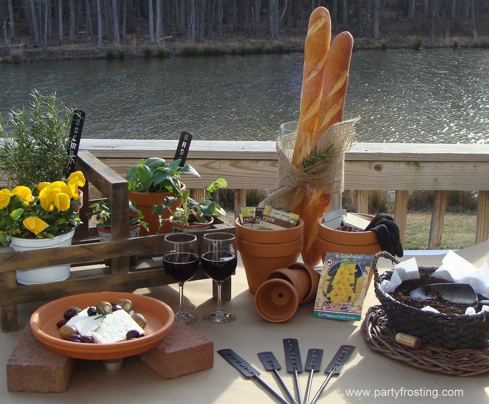 Spring Garden Planting Party Ideas/Inspiration   Dining ...