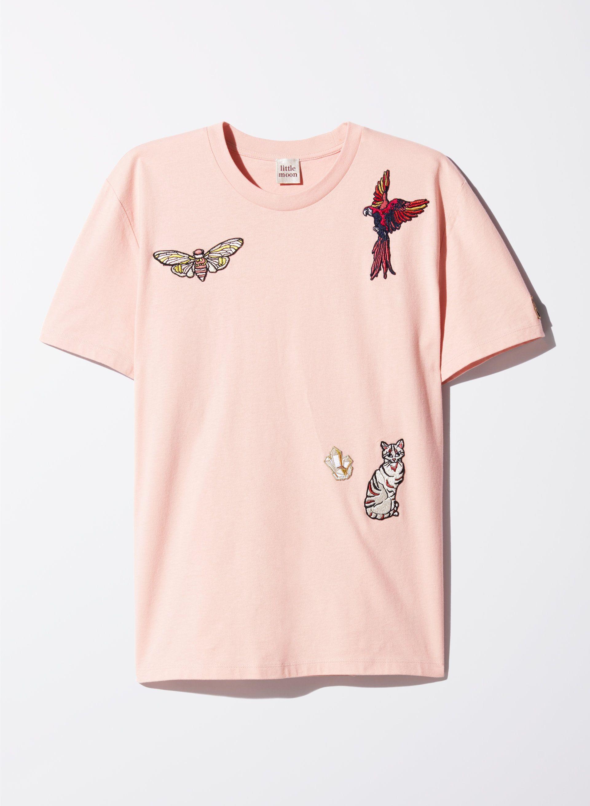 310e8134b Little Moon AGERATUM T-SHIRT   Aritzia   TOPS   Mens tops, T shirt, Tops