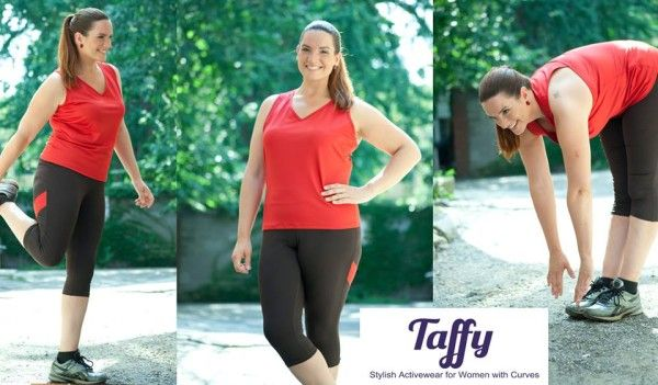 d40fb86dc39 Taffy Activewear  Taffy provides plus size workout clothes in sizes 14-24  with a