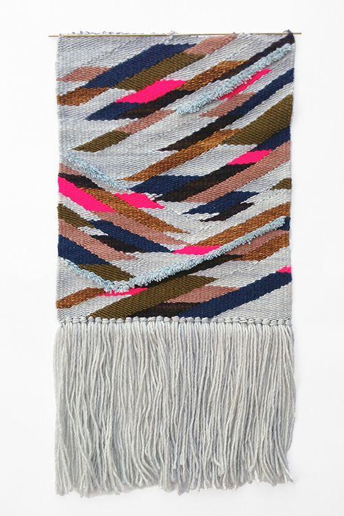 Quoin weaving for One Kings Lane