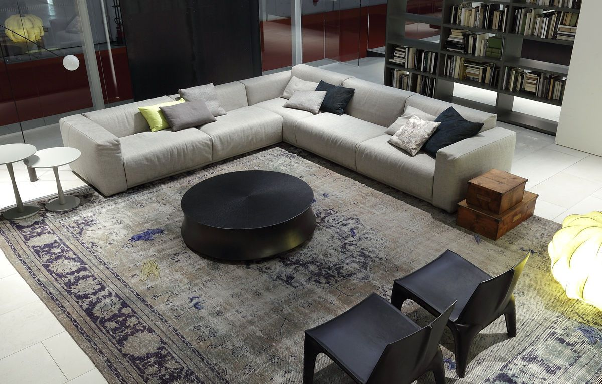 The Elegant Bolton Sectional Sofa By Giuseppe Vigano Sofa Design Living Room Furniture Layout Extra Large Sectional Sofa
