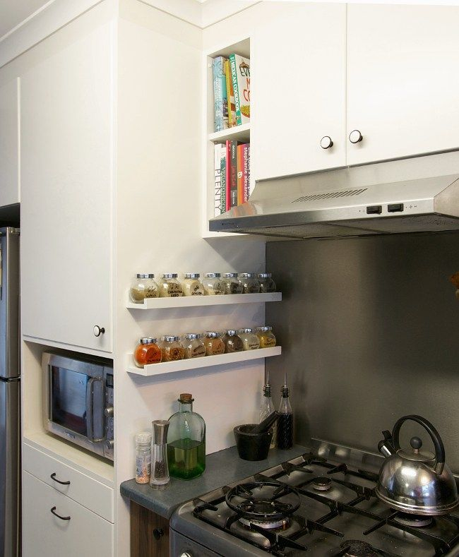 9 Completely Ingenious Ideas for an Underused Kitchen Space - ikea küche katalog