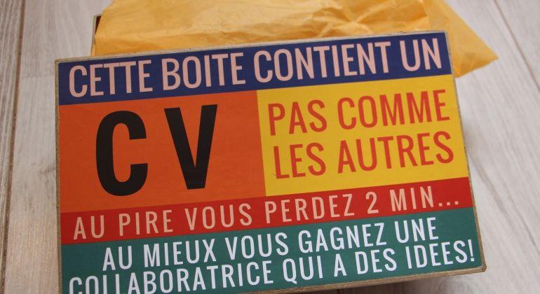 Un Cv Inspiré Des Packaging Monoprix Modèle De Cv Créatif