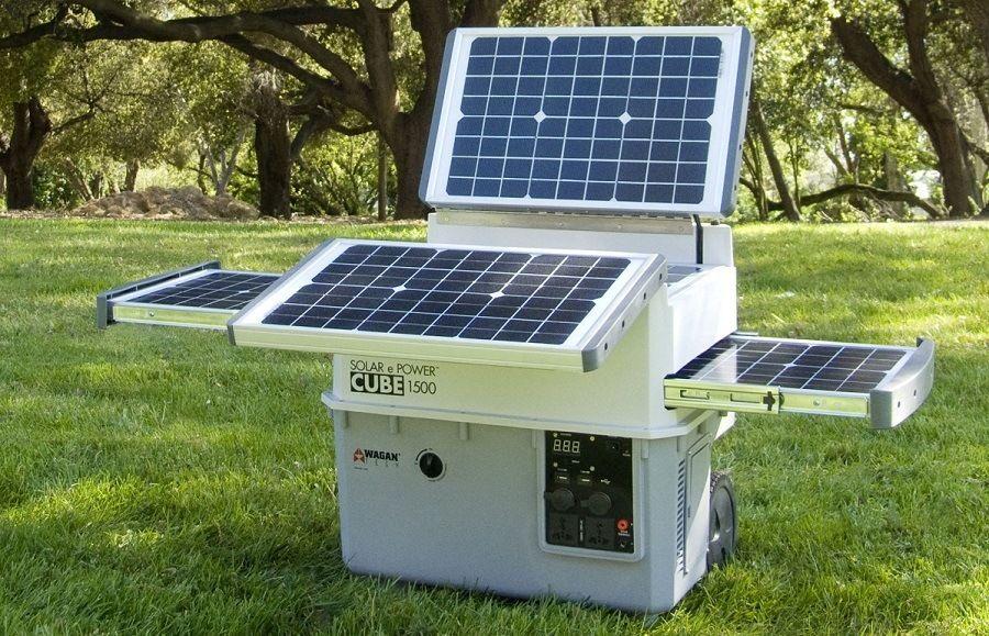 Wagan El2546 Solar E Cube Portable Generator Solar Portable Solar Generator Solar Generators
