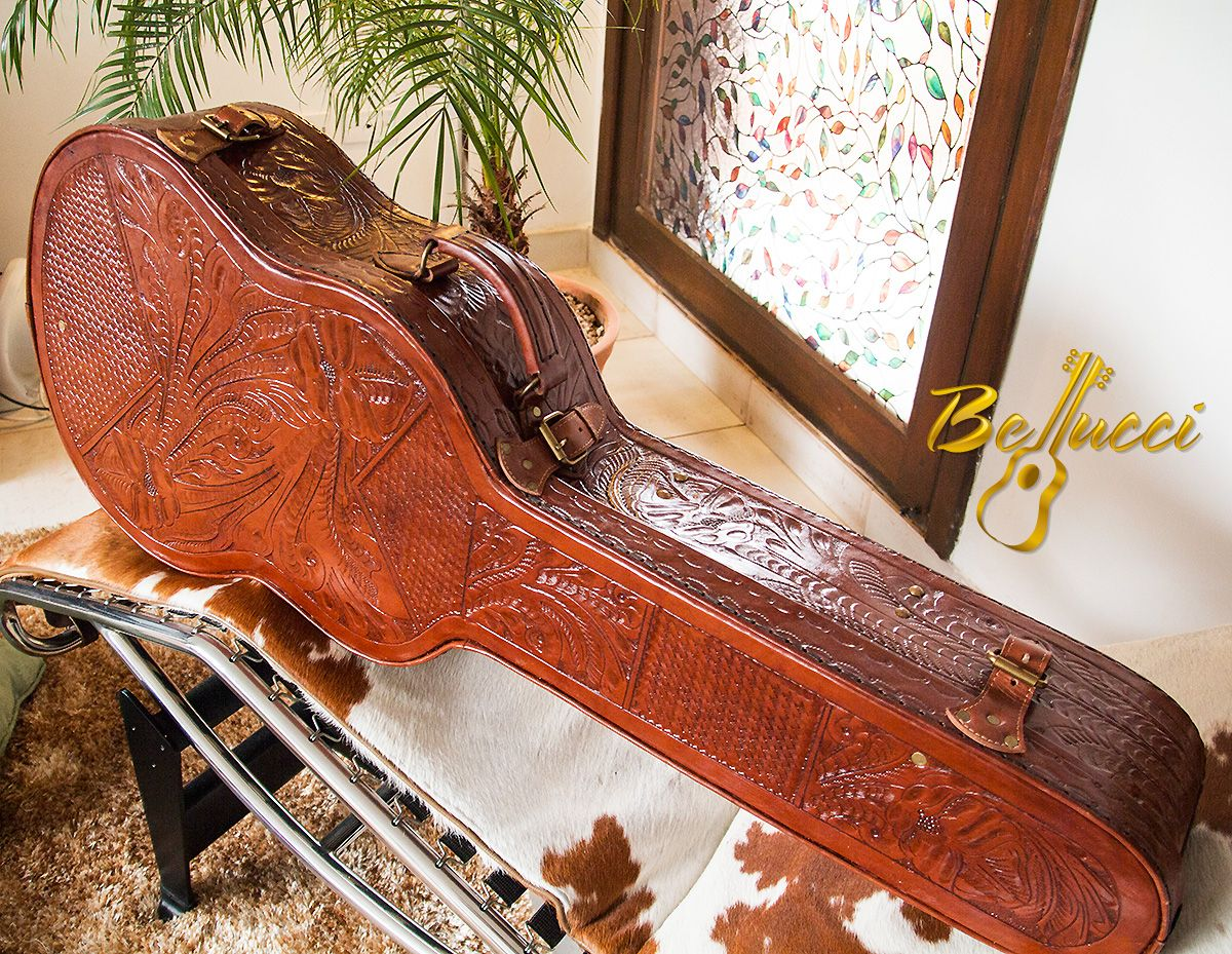 bellucci hand embossed leather cases concert classical guitar cornhole pinterest classical. Black Bedroom Furniture Sets. Home Design Ideas