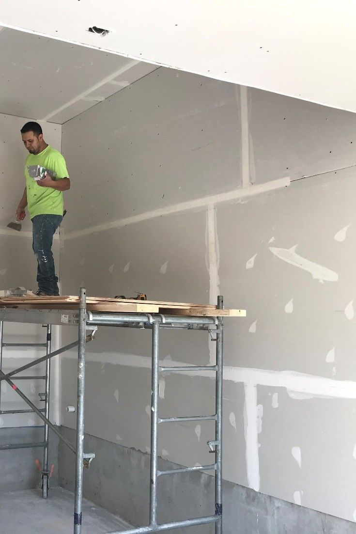 Drywall at one of our location toronto tapers spray