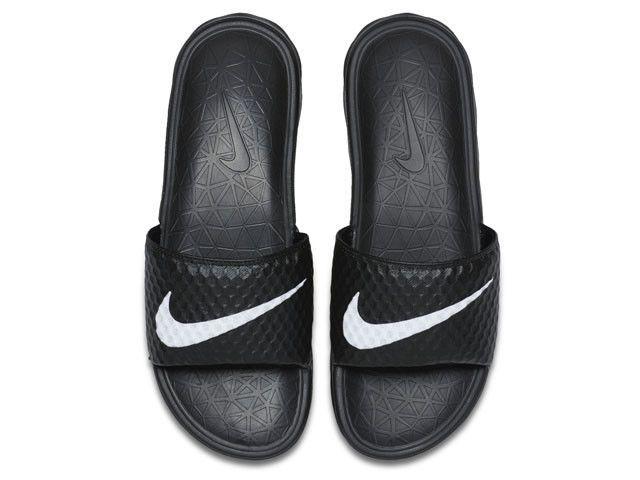 faacea4a0f42 Nike Benassi Solarsoft TB Black White Mens Sandal Slides Slippers 831171  010 8  Nike  Slides
