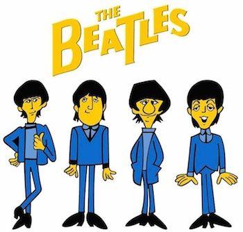Beatles Cartoons Complete Series 1965 67 Volume 3 4 On Dvd Beatles Cartoon The Beatles Cartoon