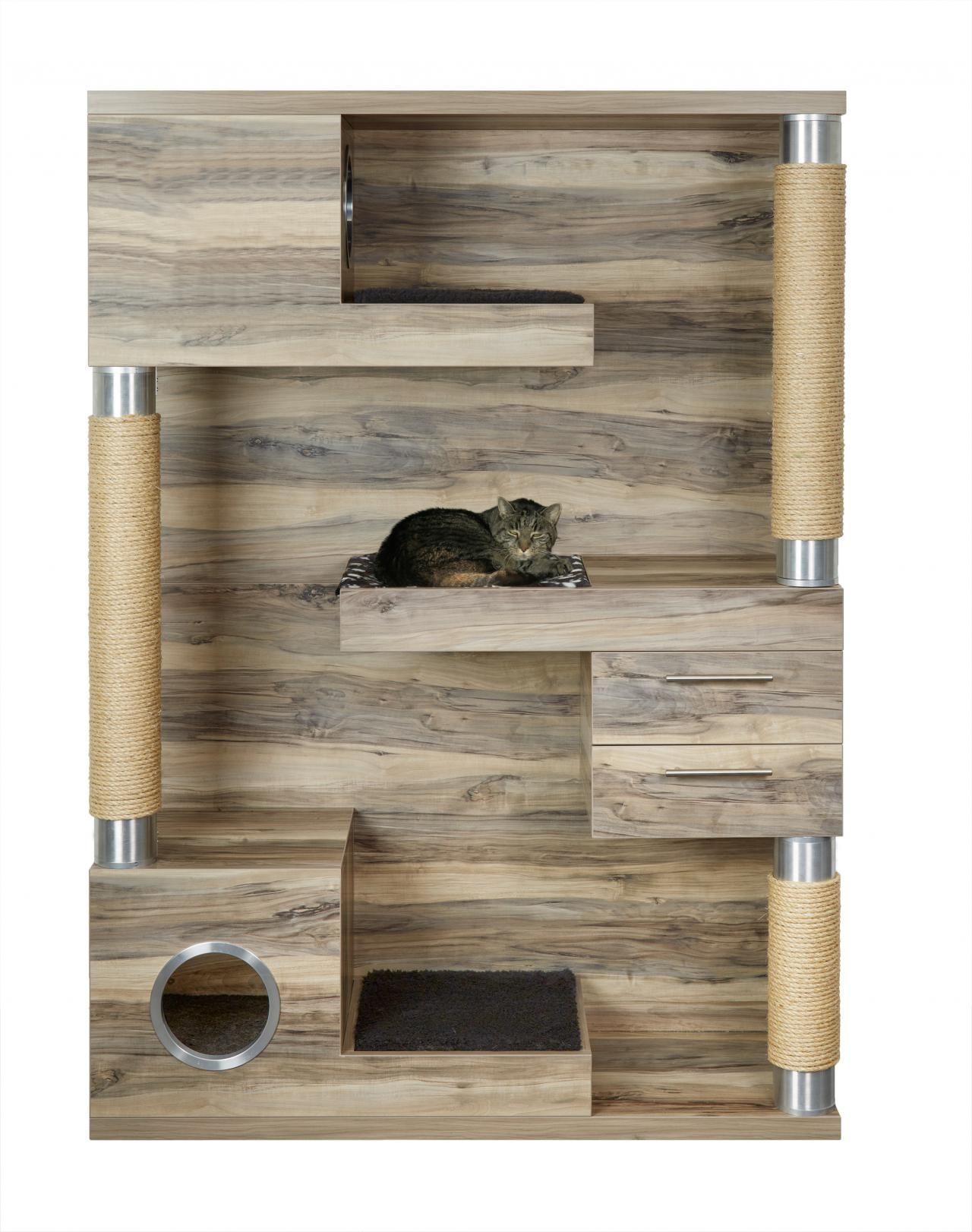 katzenm bel statt katzenbaum cat pinterest. Black Bedroom Furniture Sets. Home Design Ideas