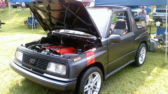 Geo Tracker with a Corvette Engine | Rats and Rods ...