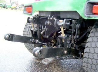 3 Point Hitch For Attachments Garden Tractor