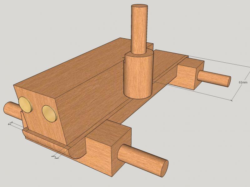 holztraktor bauanleitung zum selberbauen 1 2. Black Bedroom Furniture Sets. Home Design Ideas